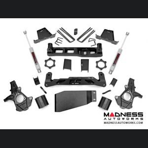 """Chevy Silverado 1500 2WD Suspension Lift Kit w/ Premium N3 Shocks - 7.5"""" Lift"""